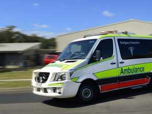 Motorcycle crash puts two teens in hospital