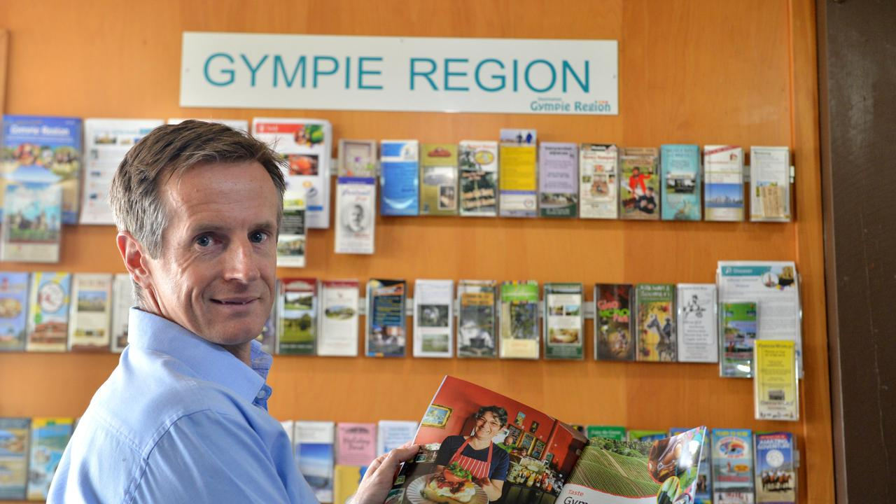 Destination Gympie Region Tourism Development Manager Andrew Saunders.