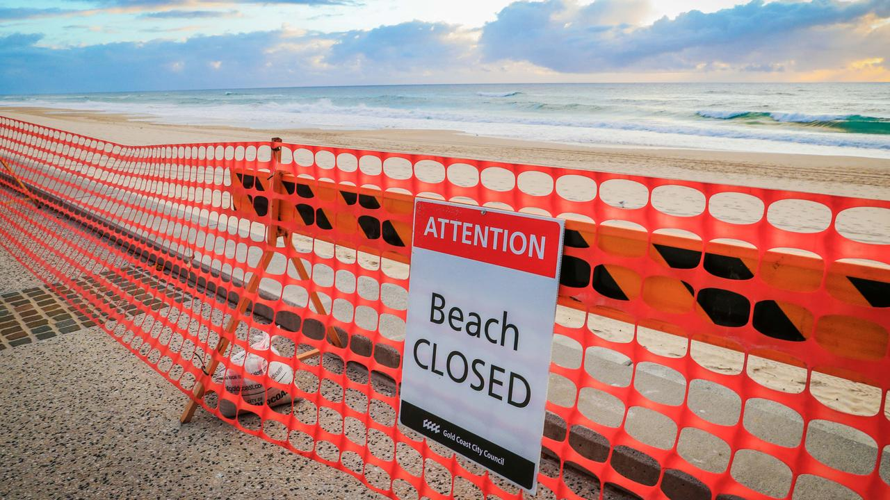Could beach closures be one of the first to be lifted?