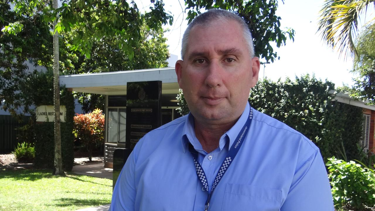 Mackay District Detective Acting Inspector Mick Searle. Photo: Zizi Averill