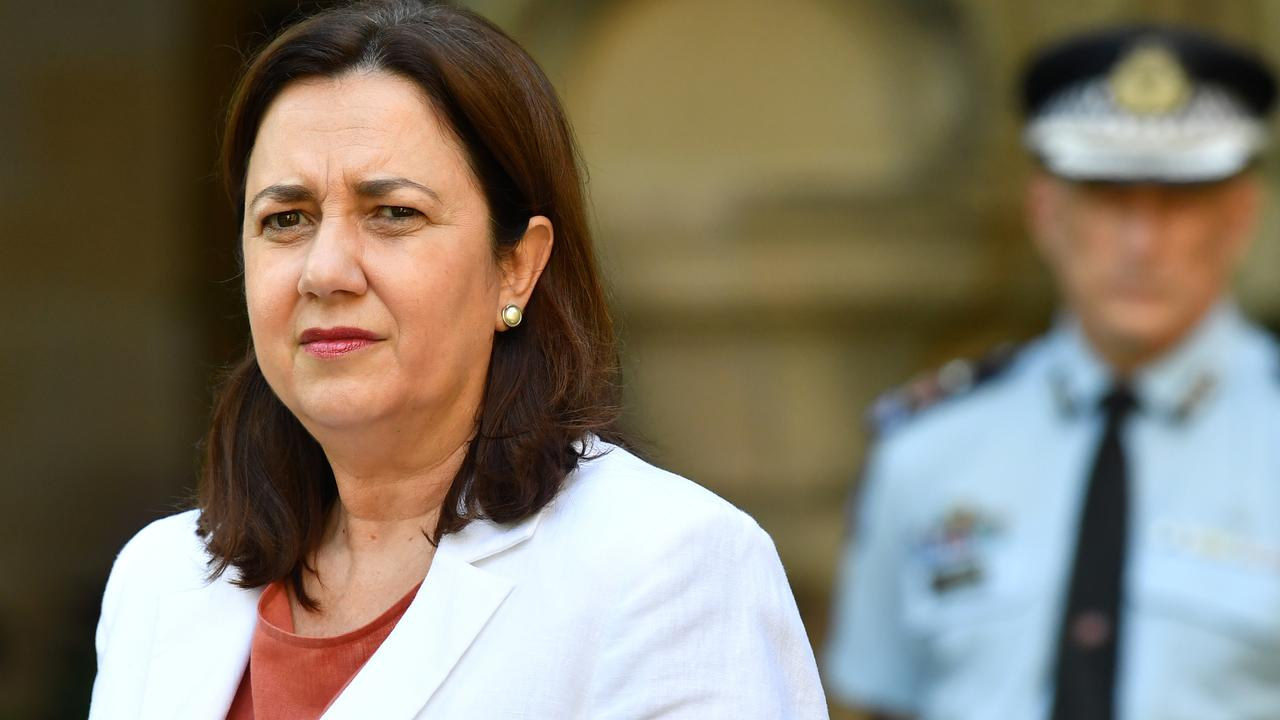 Queensland Premier Annastacia Palaszczuk says the holiday message is clear. Picture: Darren England/AAP
