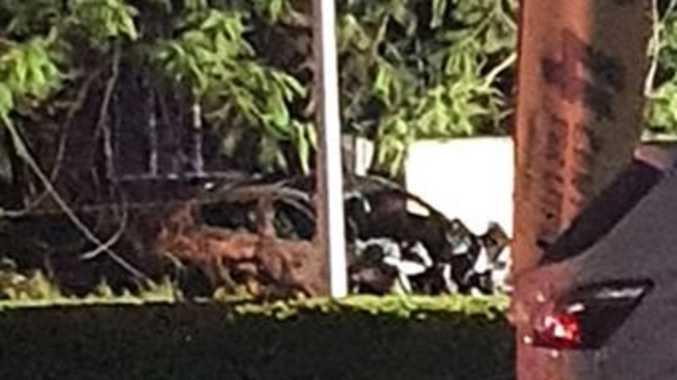 Man dies in fiery single-car crash