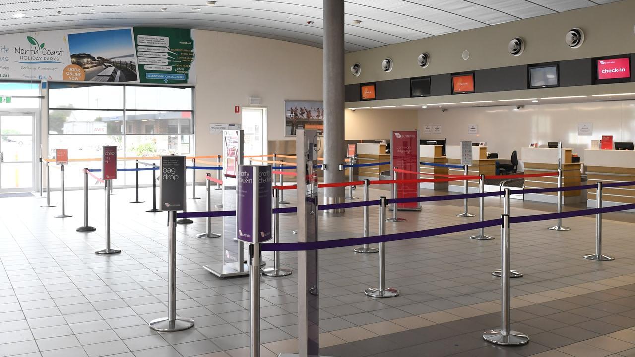 Ballina Byron Gateway Airport hit hard by COVID-19.