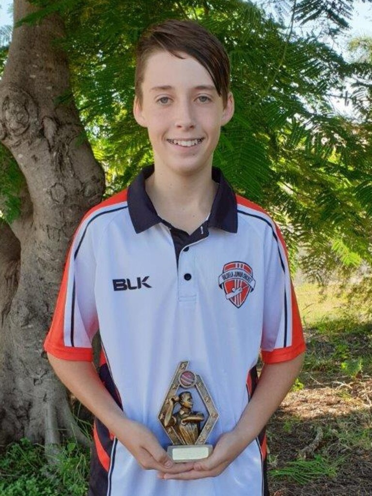 Aiden Bailey, Best Bowler Stage 3.