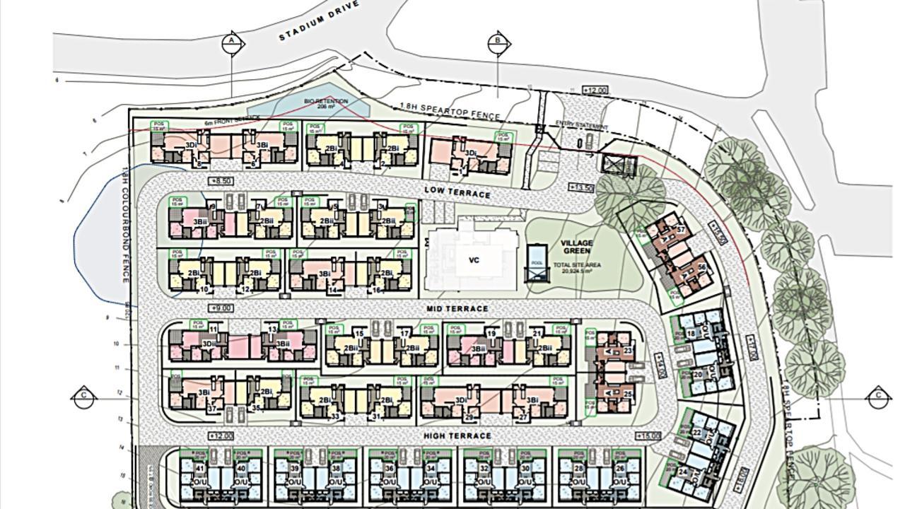 A major seniors housing development has been approved on Stadium Drive.