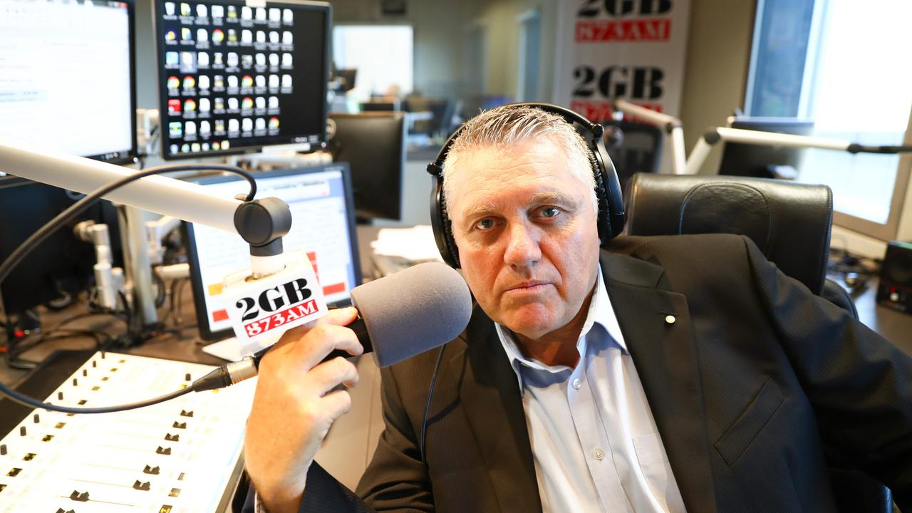 Ray Hadley refused to have Andrew Bolt on his show today.