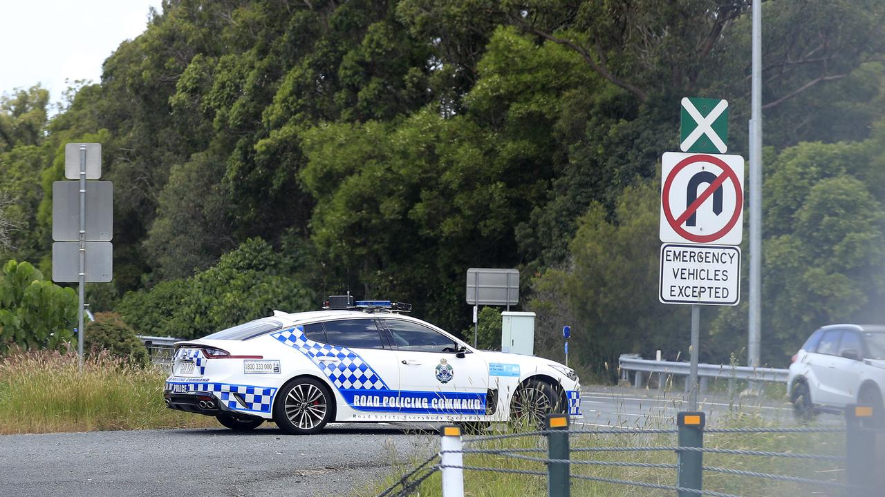 Police will patrol the southern lanes of the M1 looking for out-of-towners trying to reach the Gold Coast. Picture: Scott Powick.