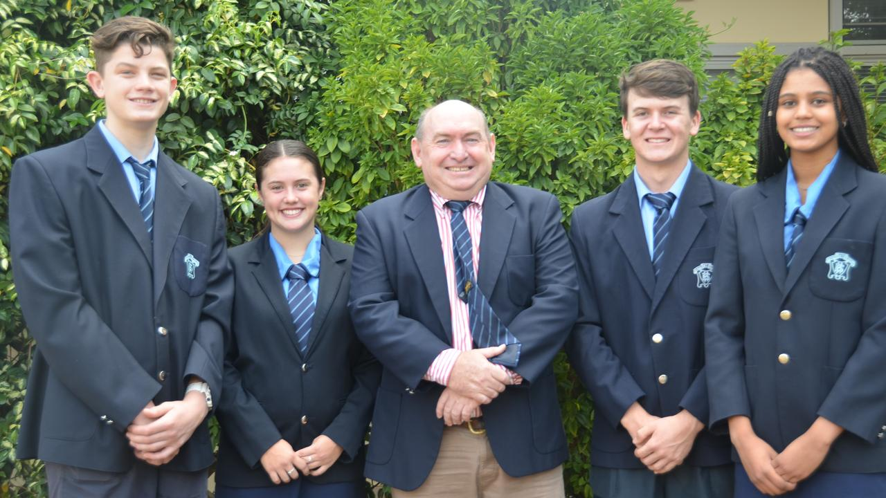 Kingaroy State High School's 2020 Year 12 cohort are preparing to continue their senior studies from home.