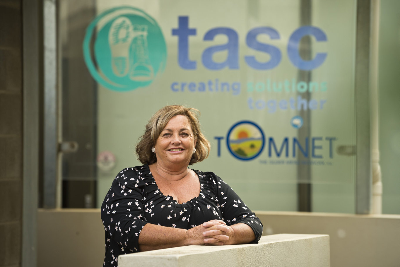 TASC National CEO Frances Klaassen as the service launches a 1800 legal advice hotline for men, called Reach Out, Thursday, April 9, 2020. Picture: Kevin Farmer