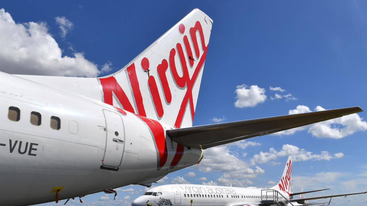 Virgin Australia is suspending all its domestic flights except for one, citing impacts from the coronavirus as the reason for the decision.