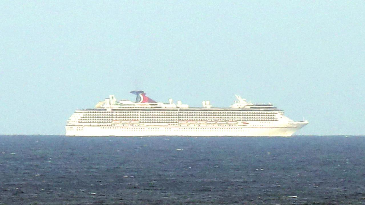 Currently at sea is the Carnival Spirit. Picture: Christian Gilles