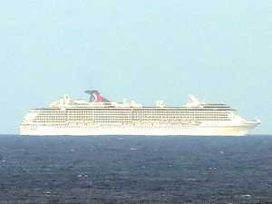 Why two cruise ships are still docked off Central Queensland