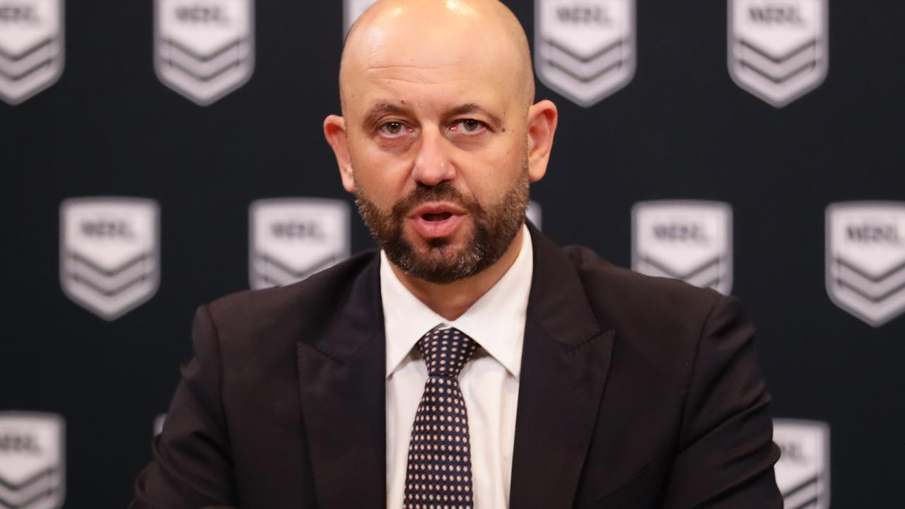 The NRL has confirmed it will become the first major sporting code to kick-off again in 2020 — returning in just seven weeks.