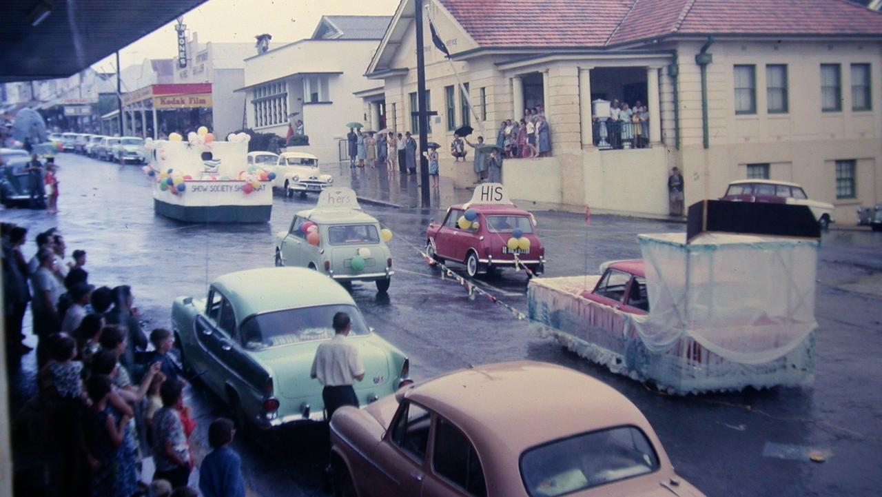Gladstone Harbour Festaival Street Parade 1964. Picture: GRAGM