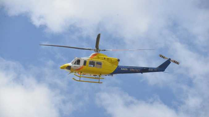 Crash victim airlifted after serious Maranoa rollover