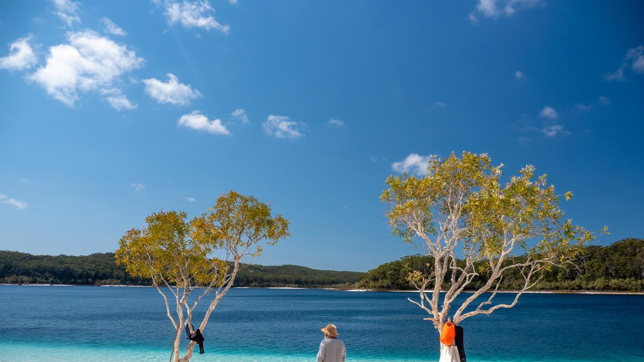 Access to Fraser Island has been cut to all but residents and workers. Picture: Tourism Australia