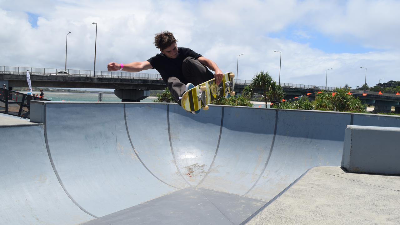Ballina skateboarder Jakob Robinson has put his Olympic dream on hold. Photo: File