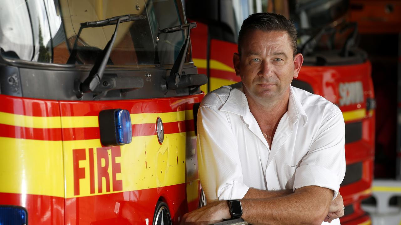 Minister for Fire and Emergency Services Craig Crawford stands by the decision to exclude RFS volunteers without Blue Cards. PICTURE: ANNA ROGERS