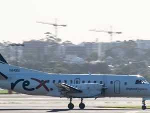 Rex reaches agreement on reduced air services