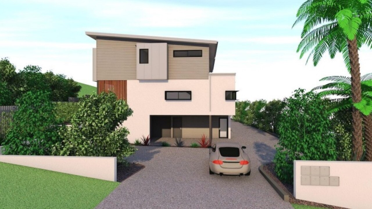 An application proposing a seven-townhouse building development in Ocean Shores has been lodged with Byron Shire Council.
