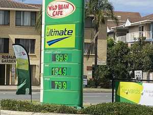 Bizarre scenes as fuel prices dip below $1