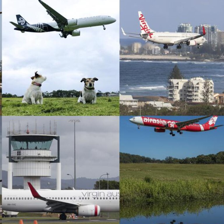 Images entered in the Gold Coast Airport Plane Spotters photographic competition.