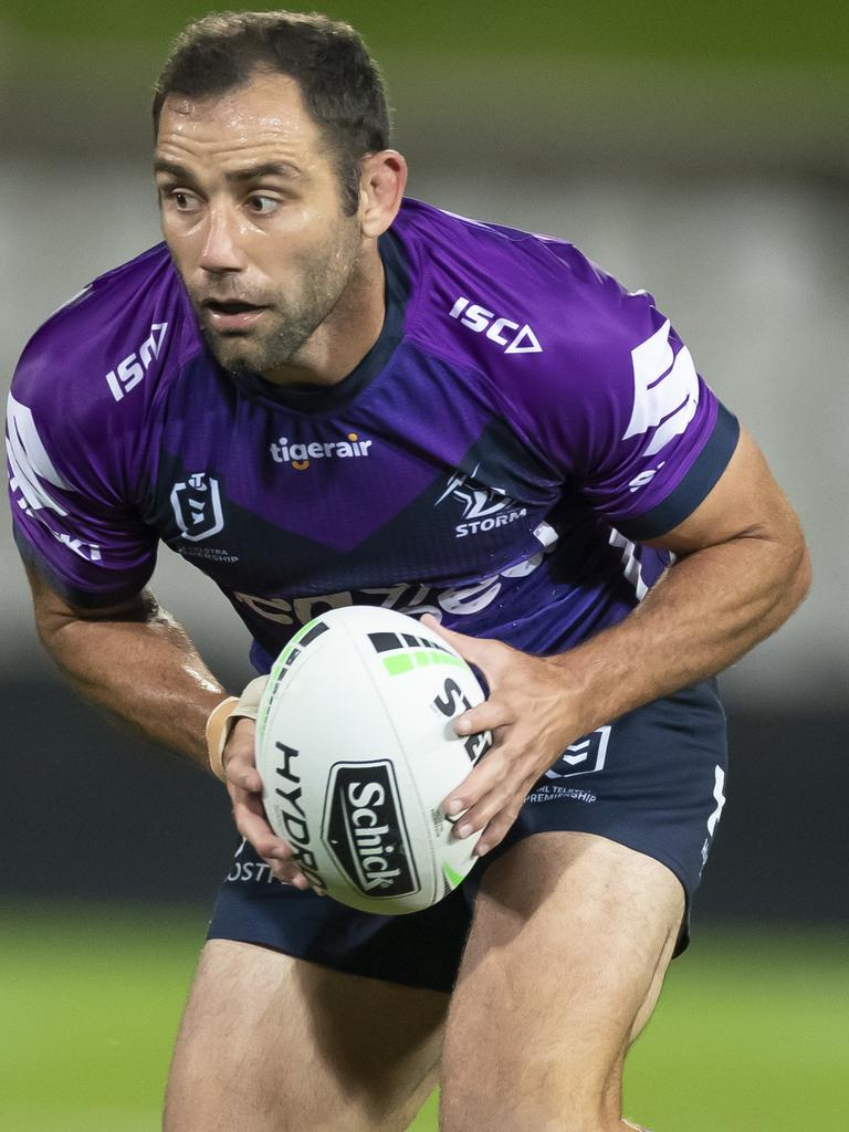The incredible leadership of Cameron Smith.