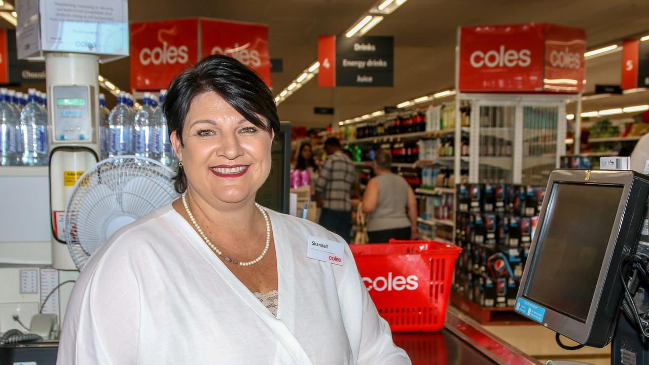 WELCOME SMILE: New Coles Gatton employee Shandell Reisenleiter. Picture: Dominic Elsome