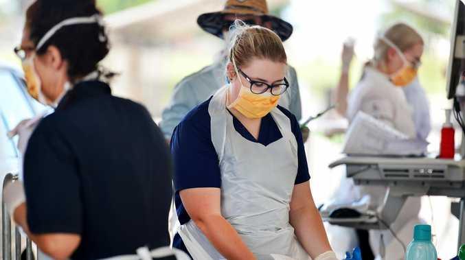 'Nurses under threat': Testers lack protective gear
