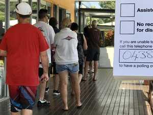 Sunshine Coast vote count grinds to a halt