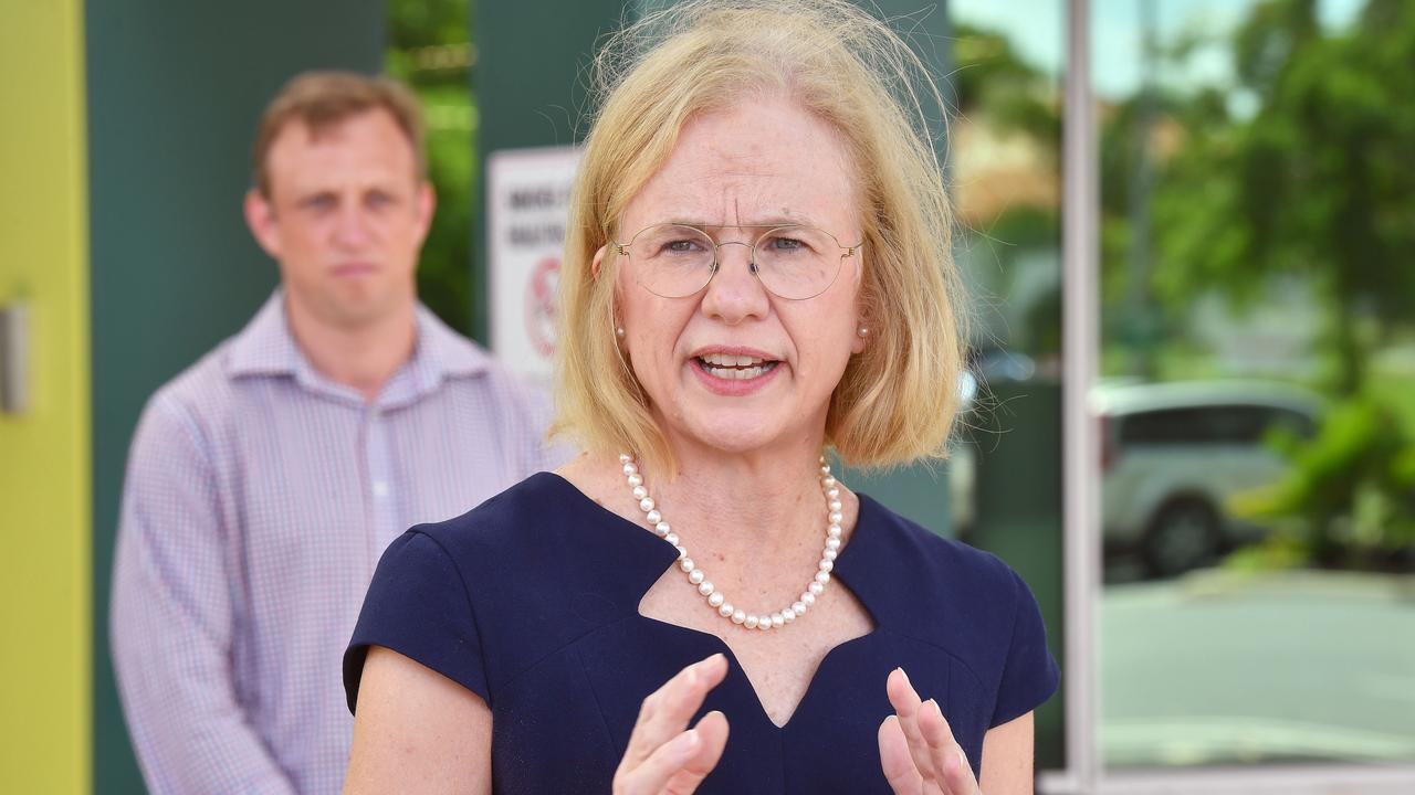 Queensland Chief Health Officer Dr Jeannette Young was in Mackay last week. Picture: Tony Martin