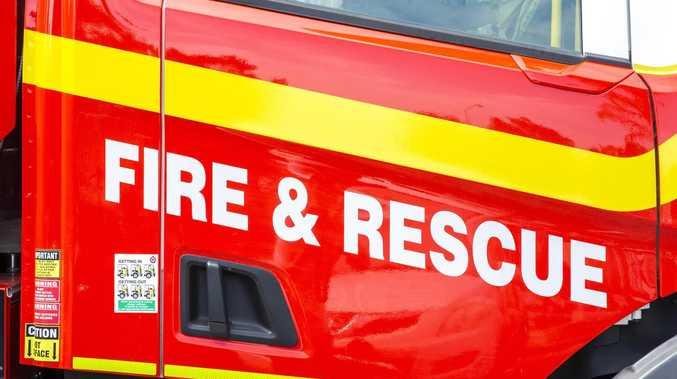 UPDATE: 60 hay bales on fire, crews battle to extinguish