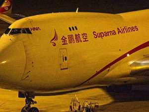 Wuhan cargo plane lands in Sydney