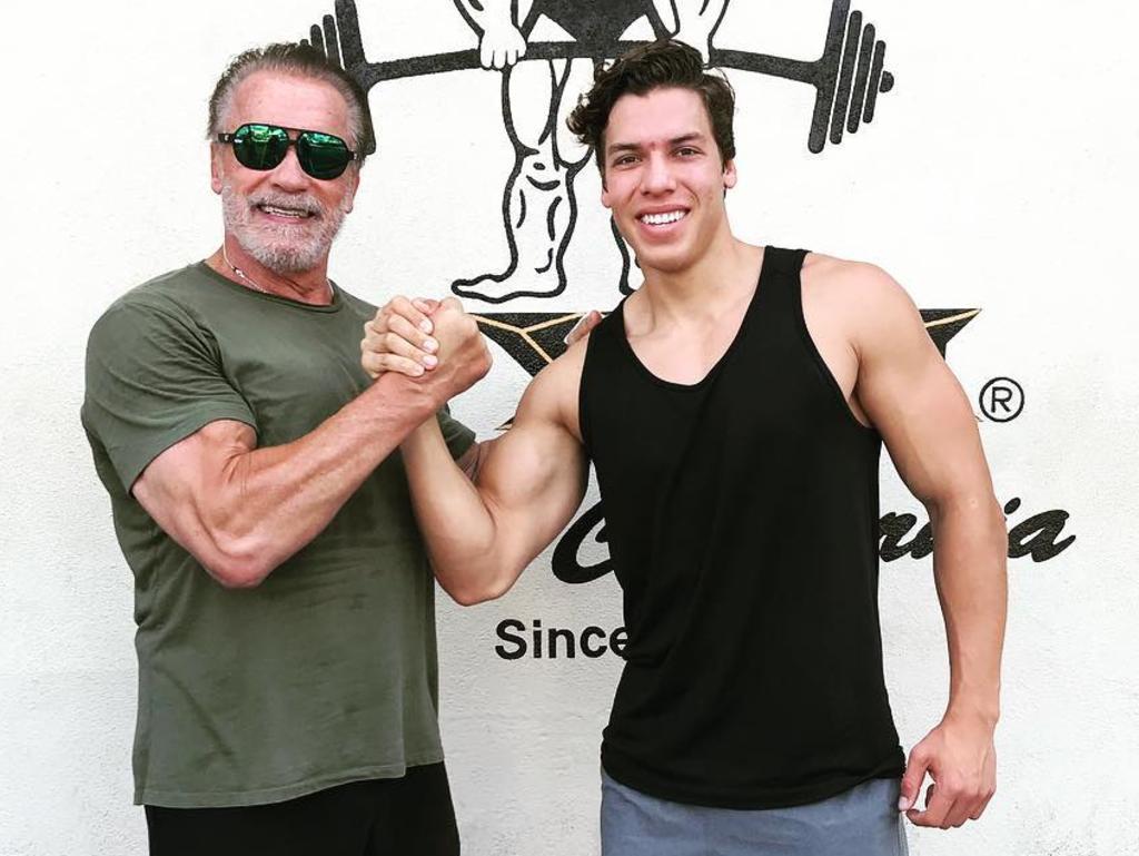 Joseph Baena is Arnold Schwarzenegger's son.