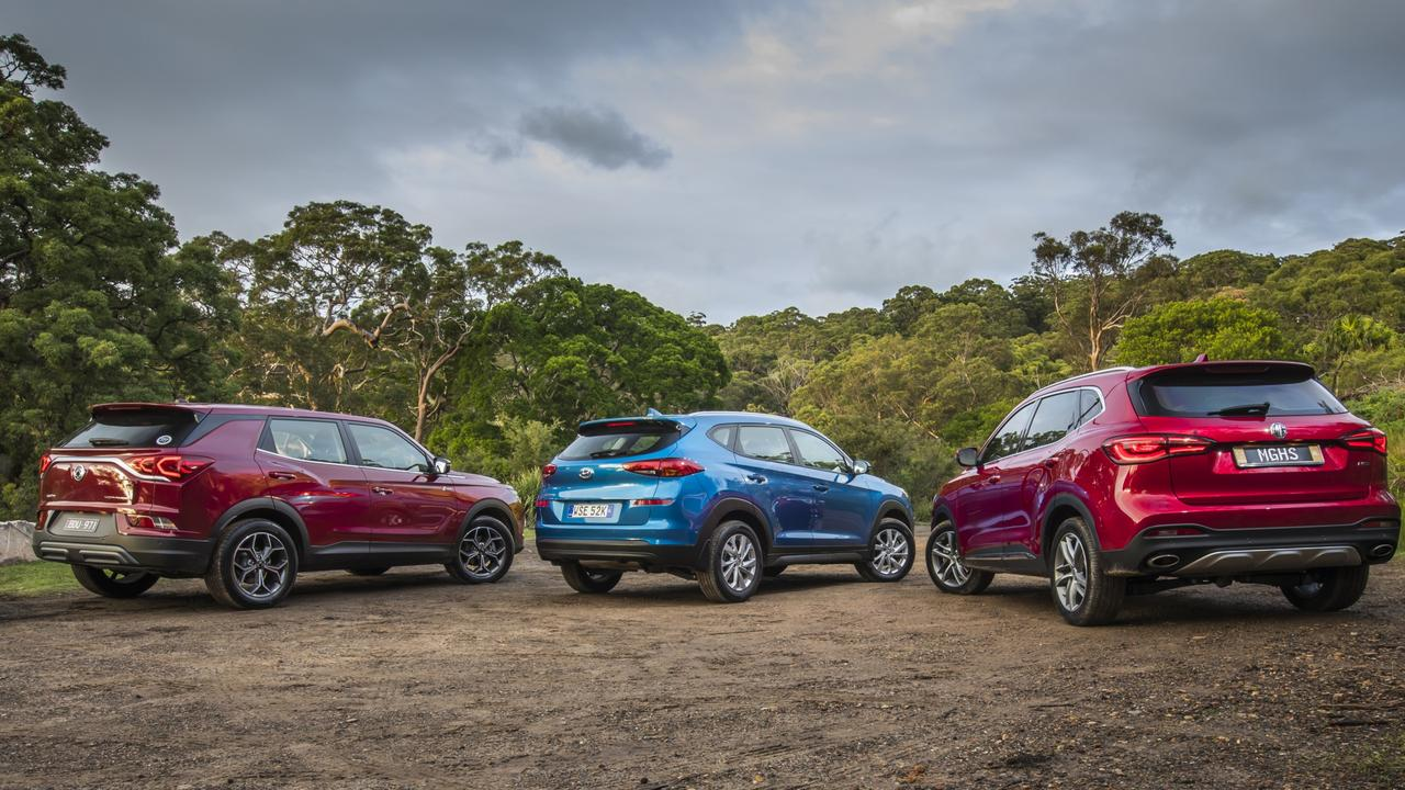 All three cars represent goo value for money. Picture: Supplied.