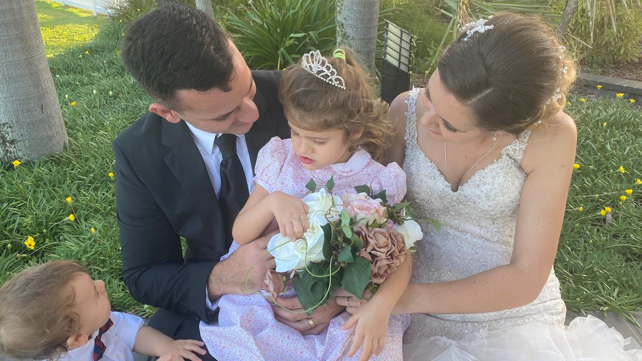 Tori and Connor Whitelaw celebrated their love with their children after they had their elopement ceremony.