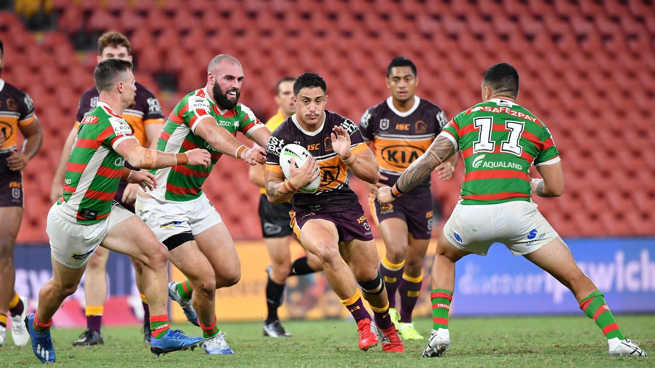 The Broncos are still planning to play out of Suncorp Stadium. AAP Image/Darren England.