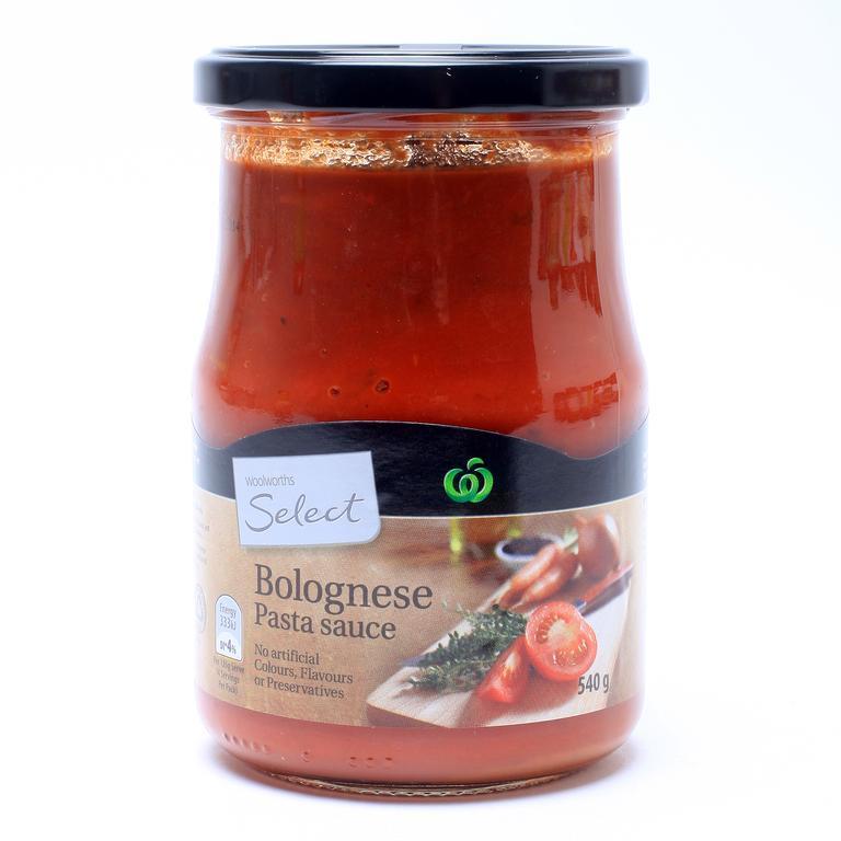 The unicorn of supermarkets in April 2020 – pasta sauce. Picture: Adam Smith