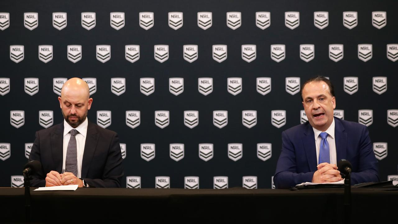 The NRL and Nine are at loggerheads. Photo by Matt King/Getty Images.