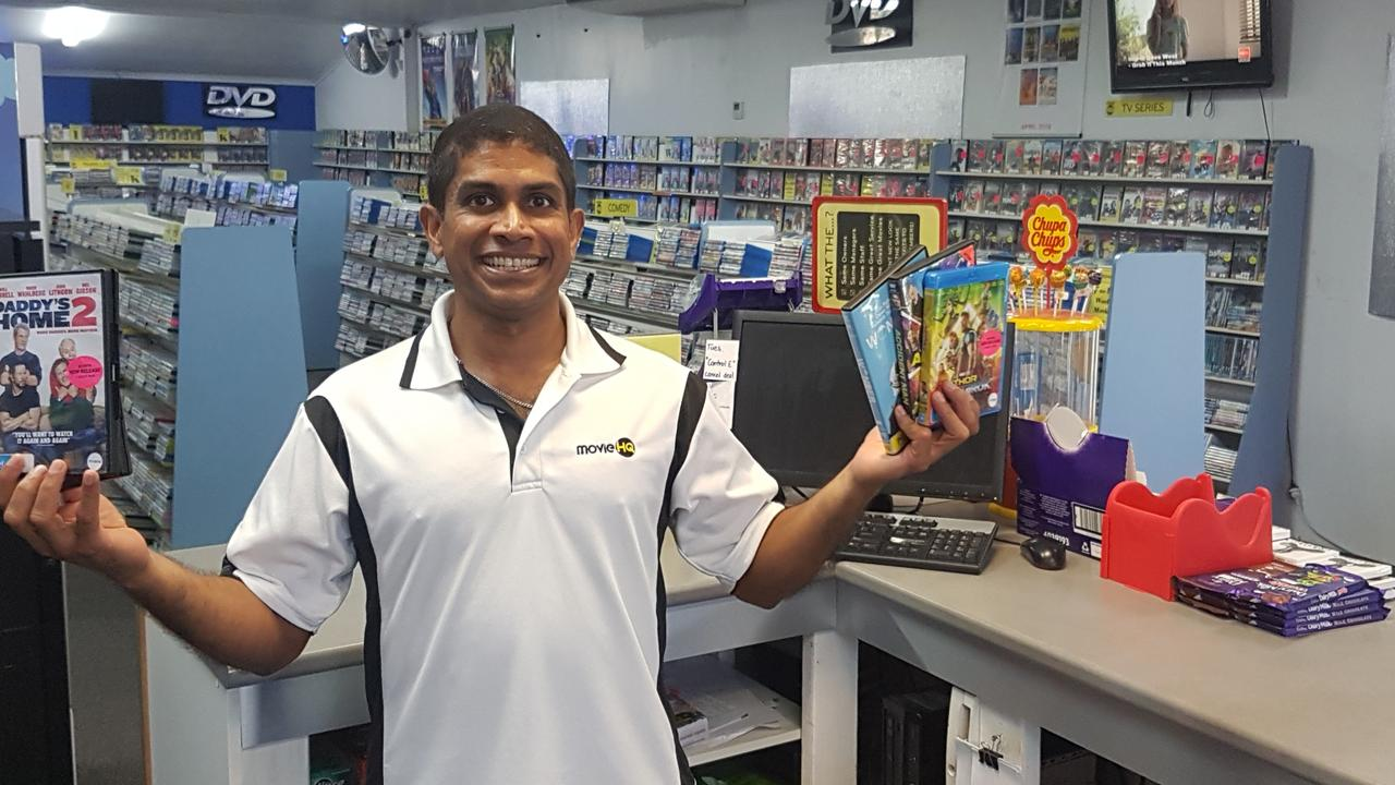 Sunny Mahadevan, owner of Movie HQ.