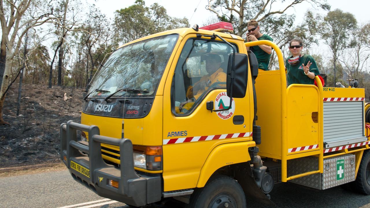 Six Mackay brigades were each awarded $2000 as part of a Rural Fire Brigades Association Queensland program.
