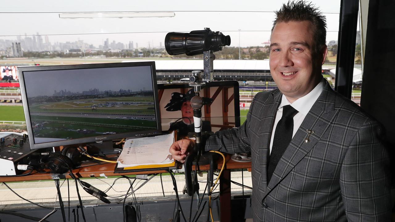 Matt Hill describes the commentator box as the loneliest place on a racecourse. But after a scary trip to China, he's learned what's really important.