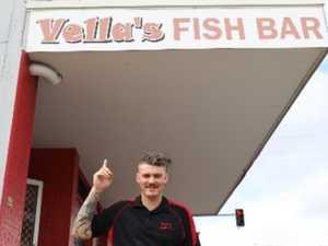 Hundreds swarm Mackay takeaway shop on Good Friday