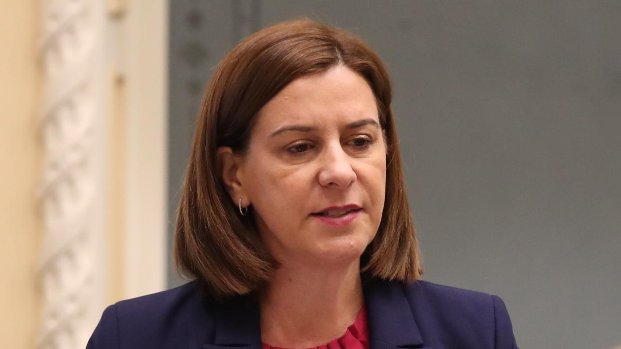 Opposition Leader Deb Frecklington. Picture: Annette Dew