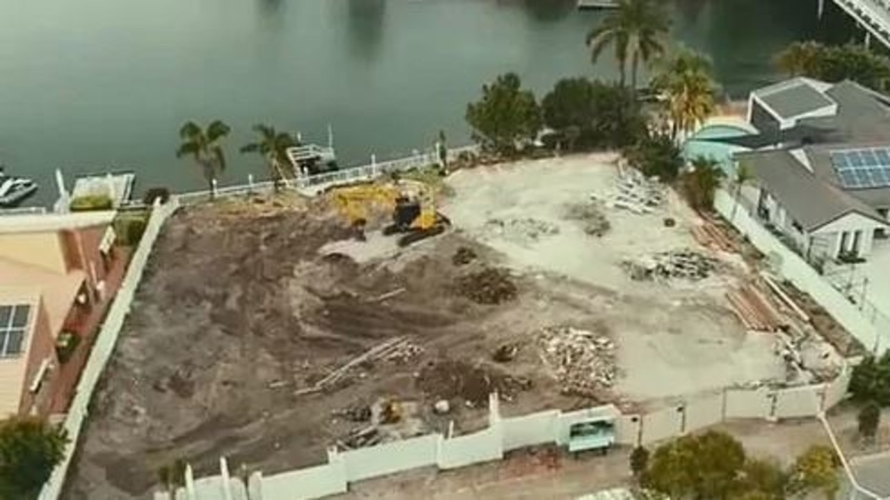 The development site at Runaway Bay on the Gold Coast. Picture: supplied
