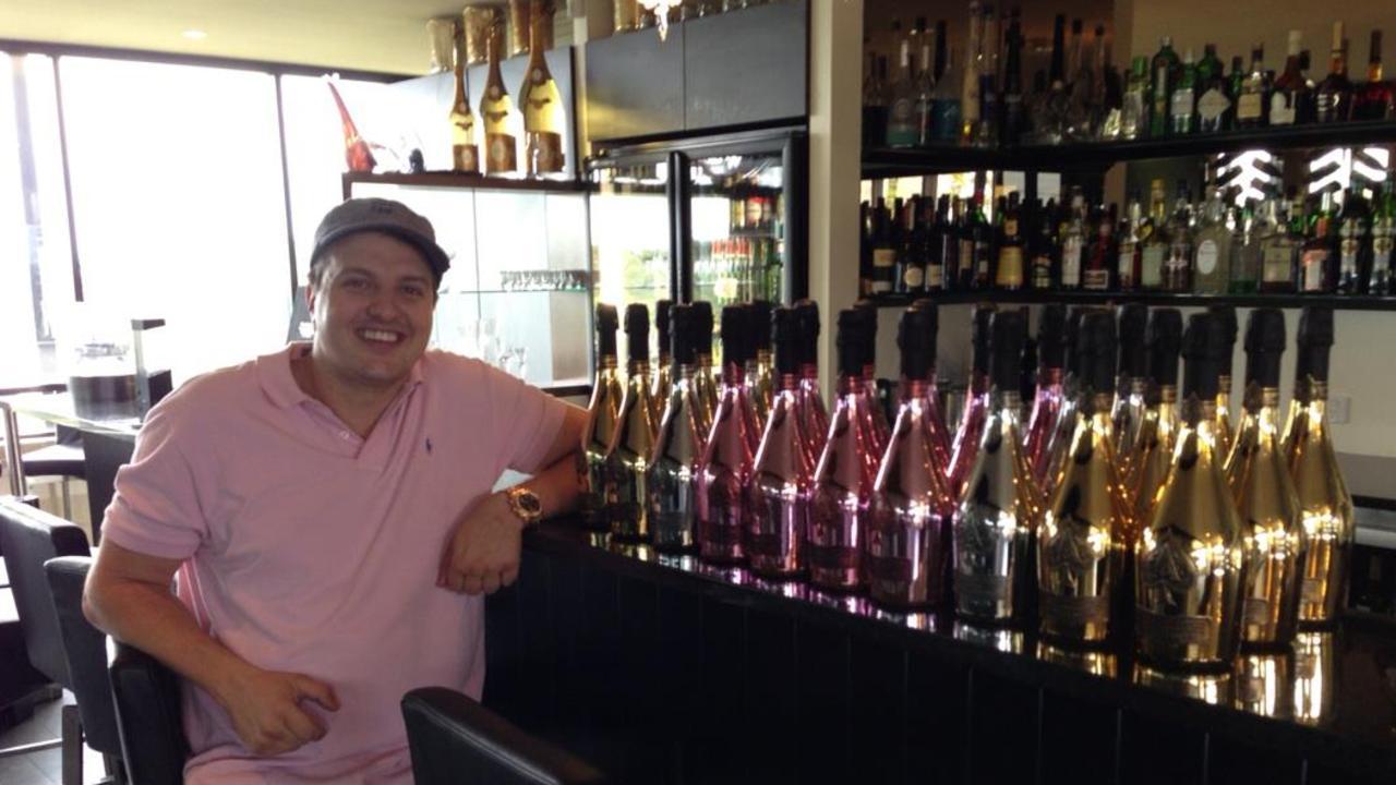 Daniel Milos inside his former restaurant Mariosarti.