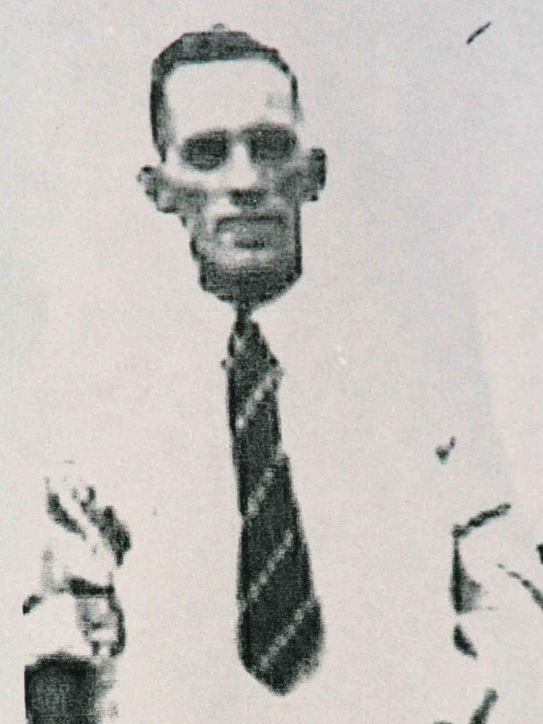 A likeness of Arthur Stanley Brown from the late 1960s as supplied by police.