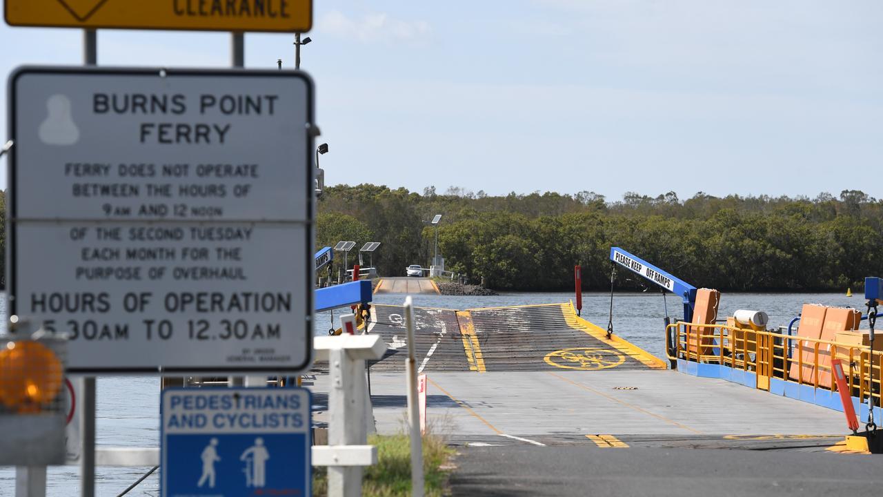Burns Point Ferry maintenance schedule is under review.