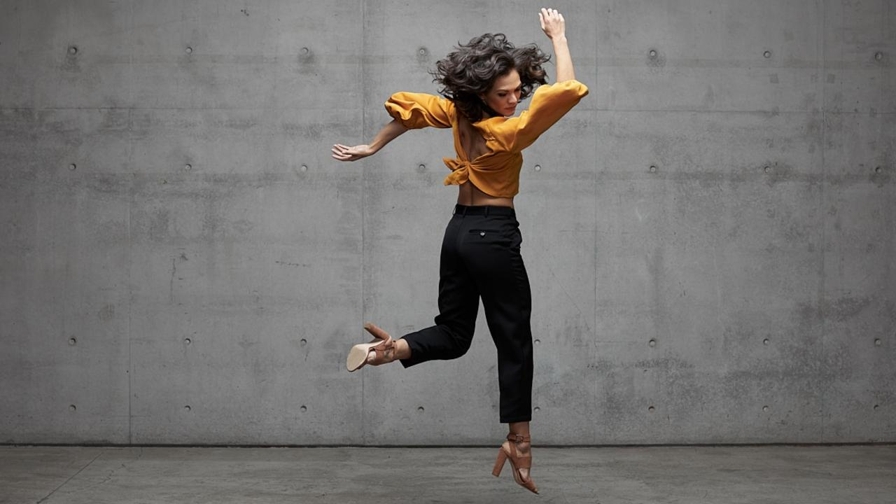 Janessa Dufty for the New Breed performances with Sydney Dance Company. Photo: Pedro Greig.