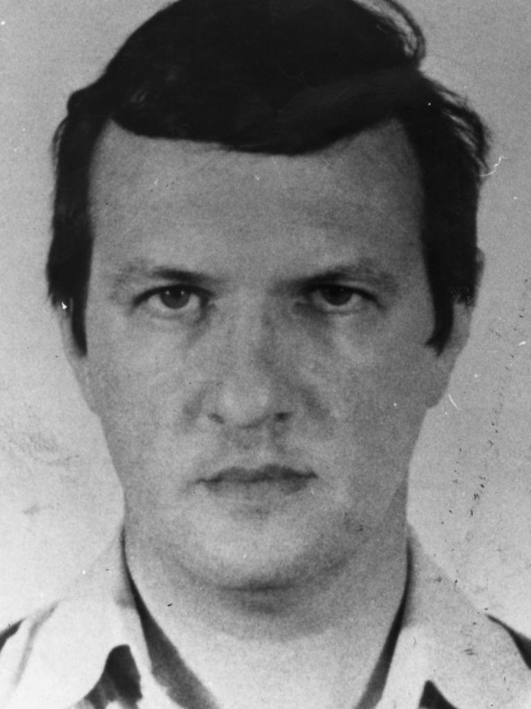 Police mugshot of convicted murder Bevan Spencer von Einem.